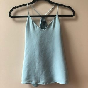 Tiffany blue tank top